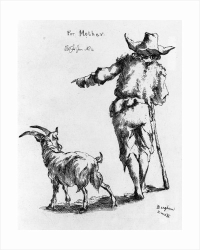 Etching by Oliver Wendell Holmes Jr.