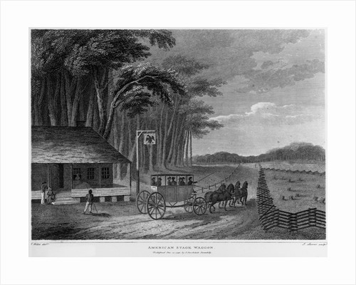 American Stage Waggon by J. Storer