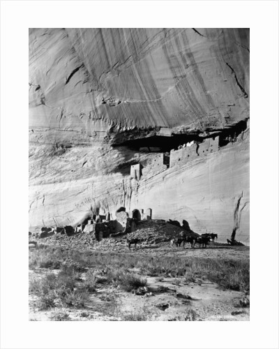Canyon de Chelly Cliff Dwellings by Corbis