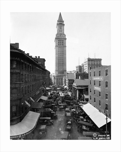 Custom House and Commercial Street by Corbis