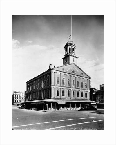 Faneuil Hall by Corbis