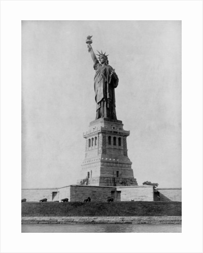 Statue of Liberty in 1890 by Corbis