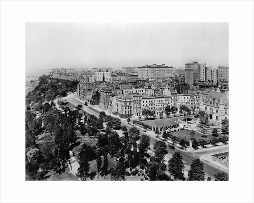 Overview of Riverside Drive and Riverside Park by Corbis