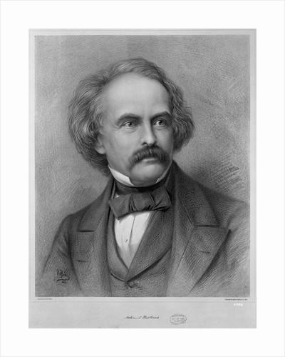 Author Nathaniel Hawthorne by Corbis