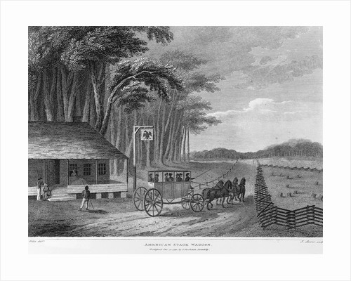American Stage Waggon by J. Stoner