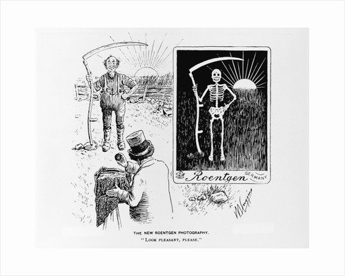 "Cartoon of ""The New Roentgen Photography"" by Corbis"