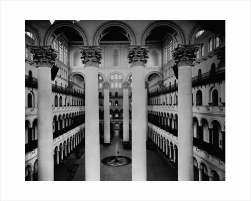 Great Hall of National Building Museum by Corbis