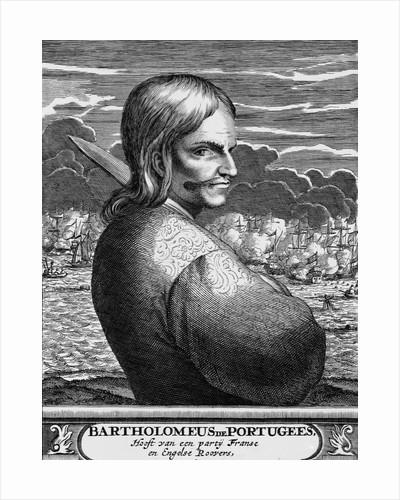 "Seventeenth Century Book Illustration of ""Bartholomeus de Portugees"" by Corbis"