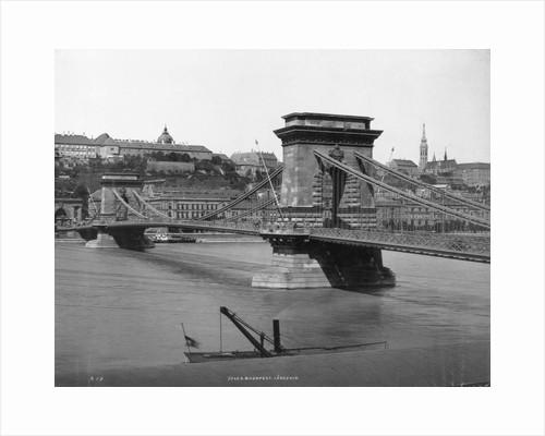 Chain Bridge in Budapest by Corbis