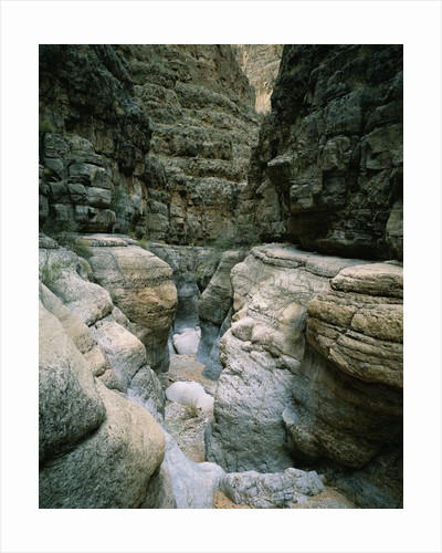Canyon of Eroded Limestone by Corbis