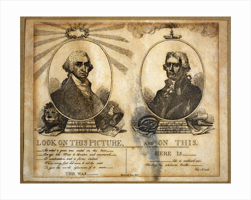 1804 Election Print by Corbis