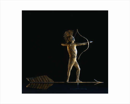 19th Century American Indian Weathervane by Corbis
