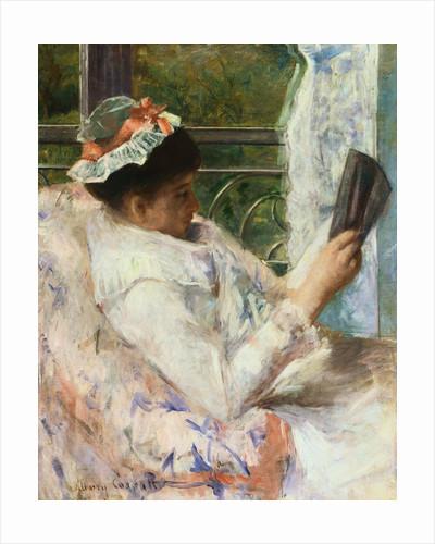 The Reader (Lydia Cassatt) by Mary Cassatt