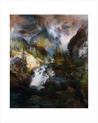 Children of the Mountain by Thomas Moran