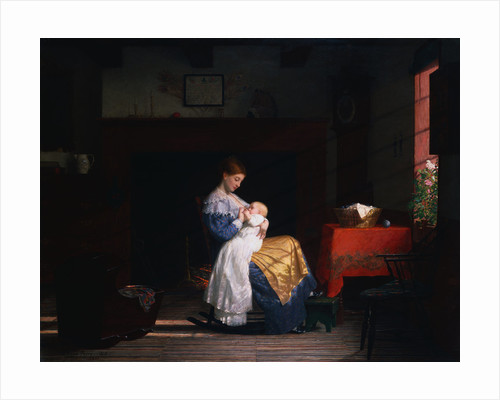 Mother and Child by Enoch Wood Perry