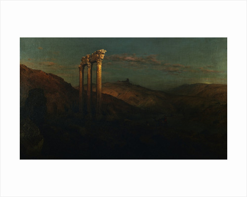 Ruins at Baalbek by Frederic Edwin Church