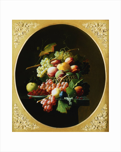 Nature's Bounty: A Pair of Still Lifes (1 of 2) by Severin Roesen
