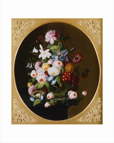 Nature's Bounty: A Pair of Still Lifes (2 of 2) by Severin Roesen