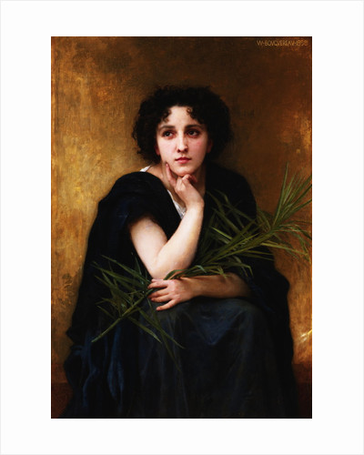 Reflection by William Adolphe Bouguereau
