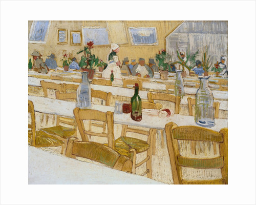 Interior of a Restaurant by Vincent Van Gogh