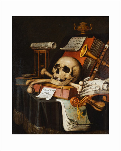 A Vanitas by Evert Collier