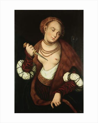 Lucretia attributed to Lucas Cranach the Elder by Corbis
