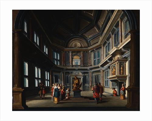 King Solomon Worshipping Idols by Dirck van Delen