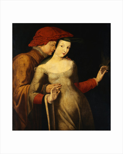 French School Painting Entitled The Lovers by Corbis