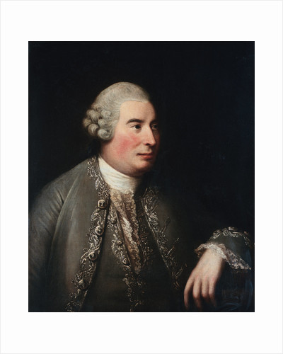 Portrait of David Hume, the Philosopher, Seated Half-Length by David Martin