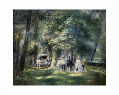 In the Park of Saint-Cloud by Pierre-Auguste Renoir