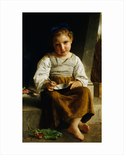 The Porridge by William Bouguereau