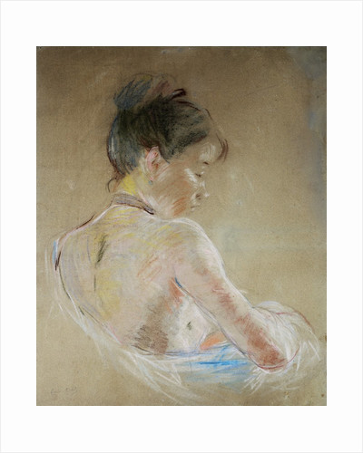Girl with Naked Shoulders by Berthe Morisot