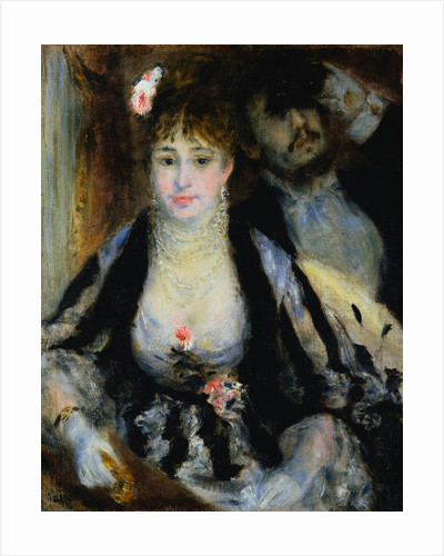 The Theatre Box (la Loge) by Pierre-Auguste Renoir