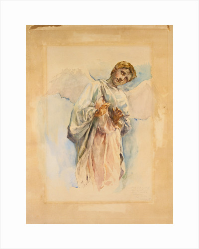 Adoring Angel: Study for the Ascension Mural by John La Farge