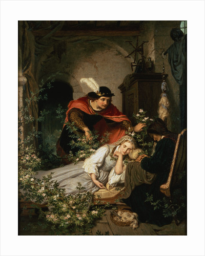 Sleeping Beauty (One of a Pair with Snow White) by Roland Risse