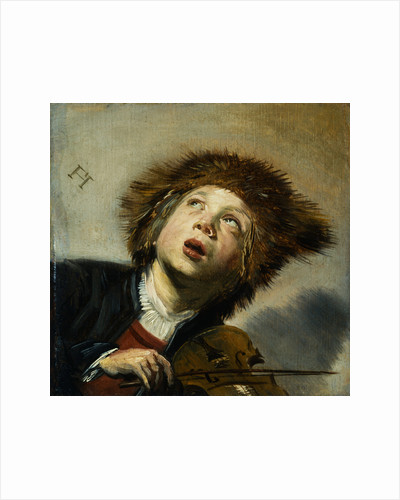 A Boy with a Violin by Frans Hals the Elder