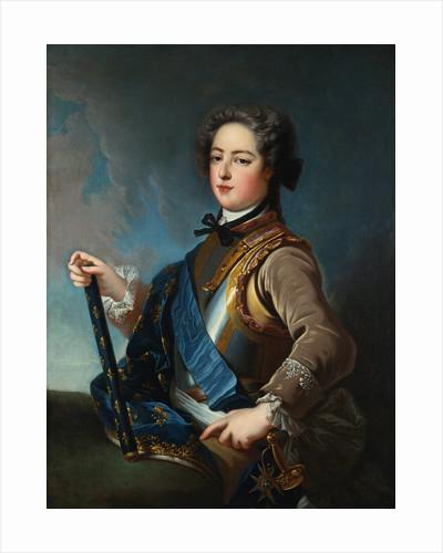 Portrait of King Louis XV by Studio of Jean-Baptiste van Loo