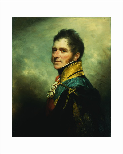 Portrait of Henry William Paget, Marquess of Anglesey, Half Length, Wearing Military Uniform by William Beechey