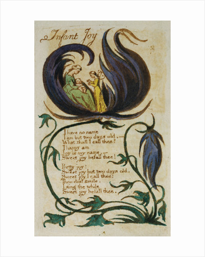 Infant Joy from Songs of Innocence by William Blake