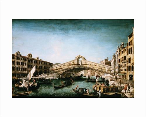The Rialto Bridge by Michele Marieschi