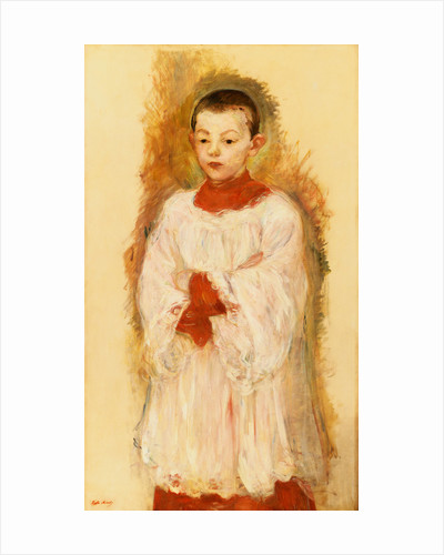 Choir Boy by Berthe Morisot