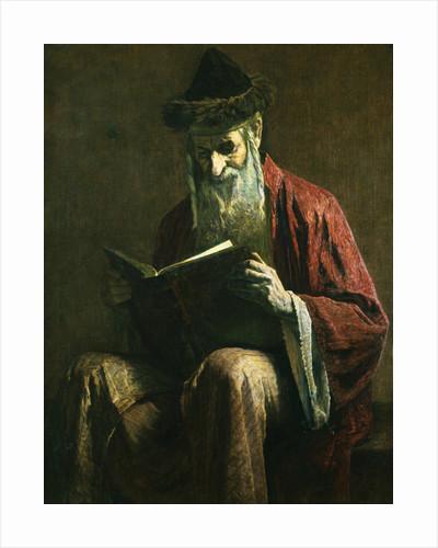 An Ashkenazi Rabbi of Jerusalem by George Sherwood Hunter