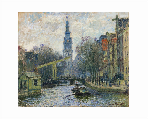 Canal, Amsterdam by Claude Monet
