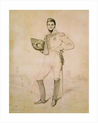 General Louis-Etienne Dulong de Rosnay by Jean Auguste Dominique Ingres