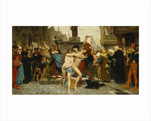 Torture of the Adulterers by Jules Arsene Garnier