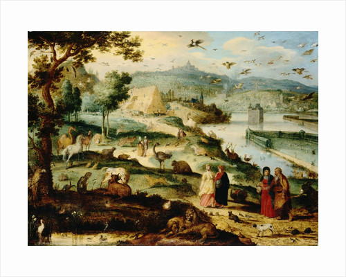 Noah's Ark Attributed to Lazarus van der Borcht by Corbis