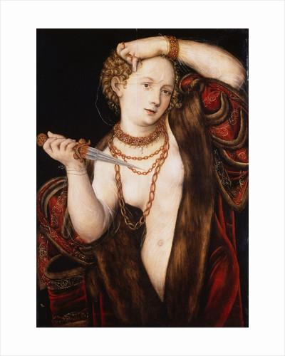Lucretia by Lucas Cranach the Elder