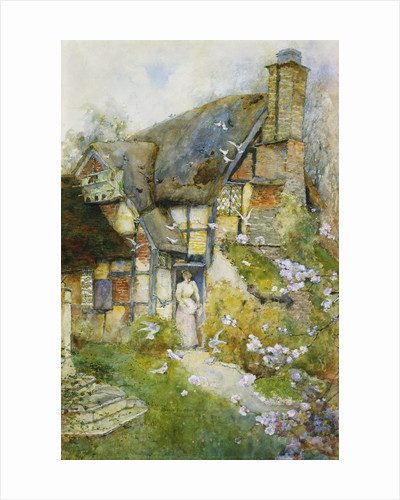 An Old Cottage near Church Stretton, Shropshire by David Woodlock