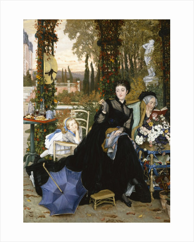 A Widow by James Tissot
