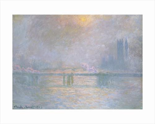 Charing Cross Bridge, La Tamis by Claude Monet